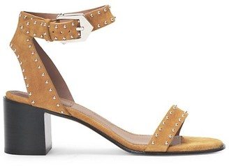 Givenchy Elegant Studded Suede Sandals