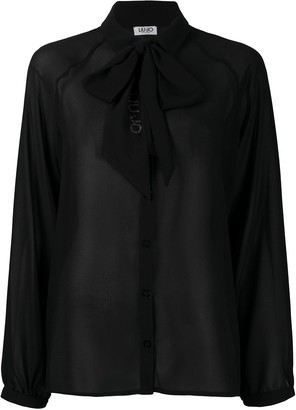 Liu Jo Pussy-Bow Blouse Shirt