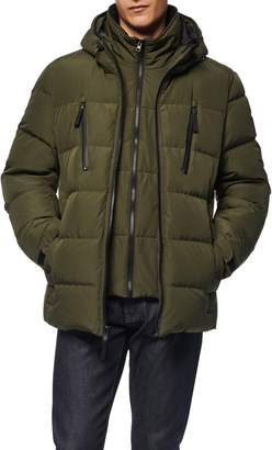 Andrew Marc Montrose Water Resistant Down & Feather Fill Quilted Coat