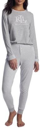 Lauren Ralph Lauren Knit Jogger Pajama Set