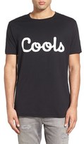 Barney Cools Men's 'Cools' Graphic Crewneck T-Shirt