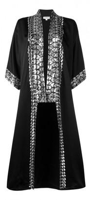 Temperley London Black Viscose Coats