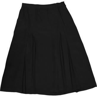 Ted Lapidus Black Silk Skirt for Women
