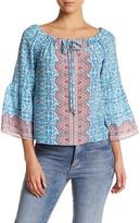 Nanette Lepore Fancy Find Silk Blouse