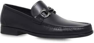 Salvatore Ferragamo Grandioso Leather Bit Loafers