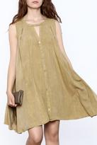 Umgee USA Green A Line Dress
