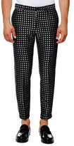 Dolce & Gabbana Dot Jacquard Trousers, Black