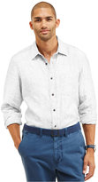 Nautica Men's Solid Linen Shirt