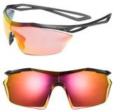 Nike Women's Vaporwing Elite 90Mm Running Sunglasses - Black/ White