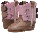 Old West Kids Boots Poppets (Infant/Toddler) (Tan Vintage) Cowboy Boots