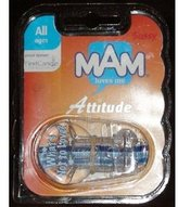 """Mam Sassy Attitude Pacifier Keeper Clip. """"What's Not To Love?"""". ."""