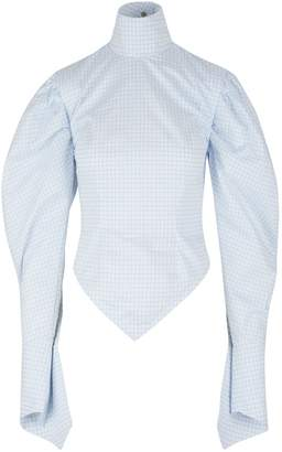Thebe Magugu Victorian cotton blouse