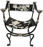 One Kings Lane Vintage Italian Campaign-Style Chair