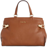 Calvin Klein Premium Leather Satchel