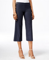 INC International Concepts Petite Cropped Wide-Leg Pants, Created for Macy's