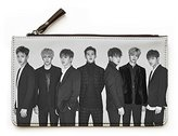 Fanstown Kpop Fashion pencil case pouch coin bag starry sky with lomo cards