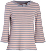 The Extreme Collection Pink & Purple Striped Shirt Fabiola