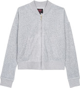 Juicy Couture Laurel velour bomber jacket