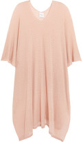 Madeleine Thompson Broom Cashmere Poncho - Blush