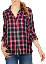 Lucky Brand Checkered Long Sleeve Shirt