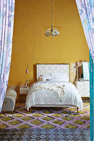 Anthropologie Brass Rondure Bed