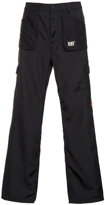 Heron Preston Black Pocket Cargo Pants