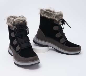Ryka Water-Repellant Faux Fur Winter Boots - Briella