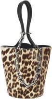 Alexander Wang Roxy Leopard Mini Bucket Bag