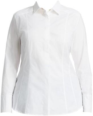 Ashley Graham x Marina Rinaldi Beauty Dress Shirt