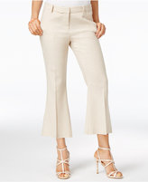 XOXO Juniors' Natalie Linen Cropped Flare Pants