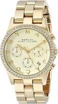 Marc by Marc Jacobs Women's MBM3105 Henry -Tone Stainless Steel Bracelet Watch