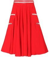 Cotton tent circle skirt