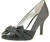Nina Women's Forbes Satin Peep-Toe Pump
