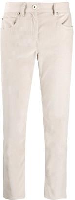 Lorena Antoniazzi Corduroy Cropped Trousers