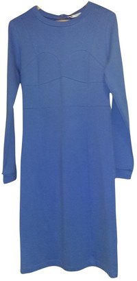 Lutz Huelle Blue Cotton - elasthane Dress for Women