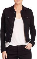 AG Jeans Robyn Black Denim Jacket