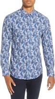 Vince Camuto Slim Fit Floral Button-Up Shirt