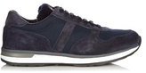 Moncler Montego Suede And Nylon Trainers
