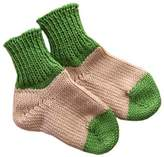 tevirP Socks 100% MERINO WOOL baby leg warmers knitted (12-24 mo, )