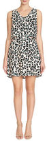 1 State Leopard Print Popover Dress