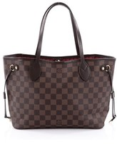 Louis Vuitton Pre-owned: Neverfull Nm Tote Damier Pm.