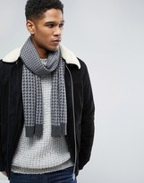 Original Penguin Houndstooth Scarf