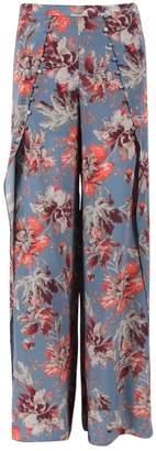 Intermix Blue Silk Trousers