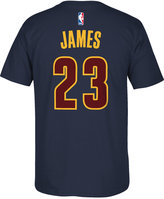adidas Men's Short-Sleeve LeBron James Cleveland Cavaliers Player T-Shirt