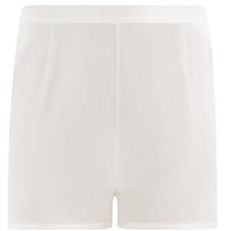 La Perla Silk-satin Pyjama Shorts - Ivory