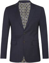 Oxford Auden Wool Suit Jacket Blue X