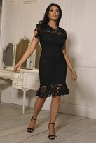 Jessica Wright Sistaglam LOVES JENNA BLACK DRESS