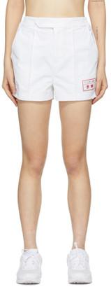 Li-Ning White Nylon Sweat Shorts