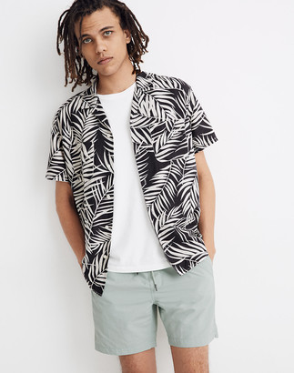 Madewell Easy Camp Shirt in Fern Fronds