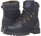 Dolce & Gabbana City Multi Leather Lace-Up Boot (Little Kid/Big Kid)